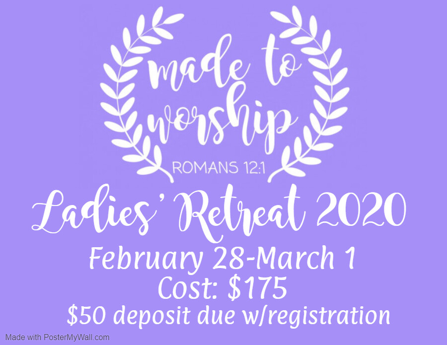 Ladies Retreat - Roundtop, TX